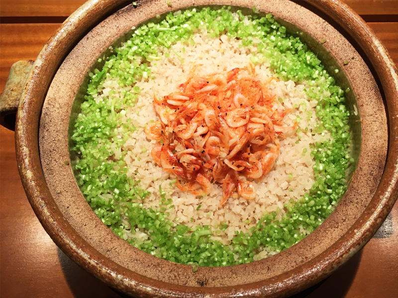 桜海老と新生姜御飯